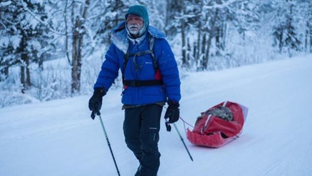 Roberto Zanda alla Yukon Artic Ultra