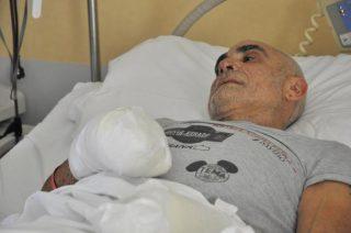 Roberto Zanda all'ospedale di Aosta
