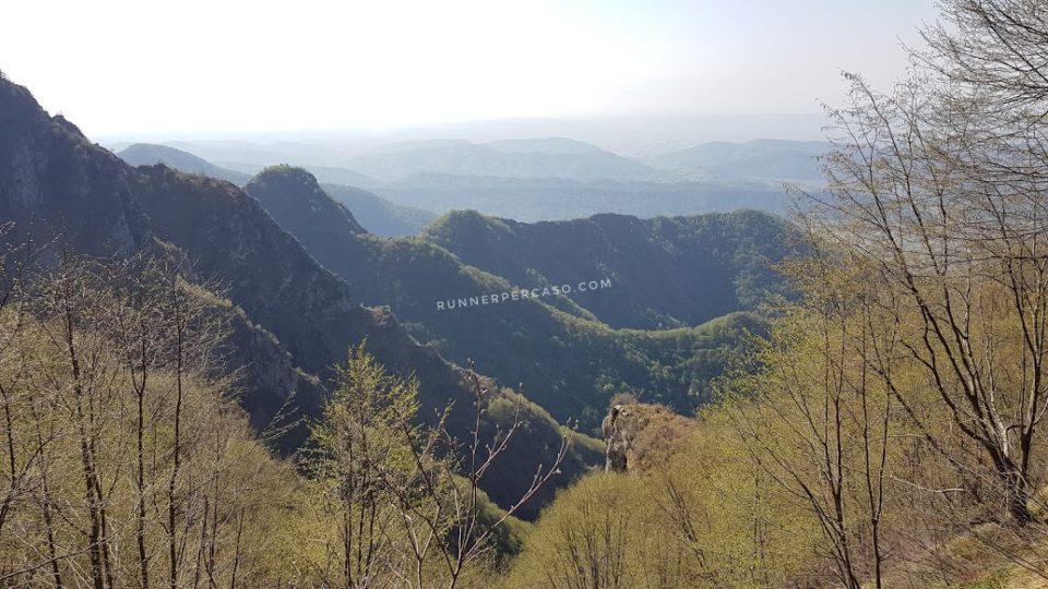 Panorama del Trail dei Brac