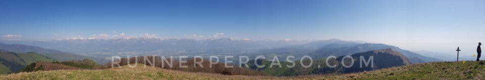 Panorama dal Col de Moi