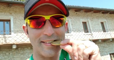 Runnerpercaso finisher al Trail dei Brac