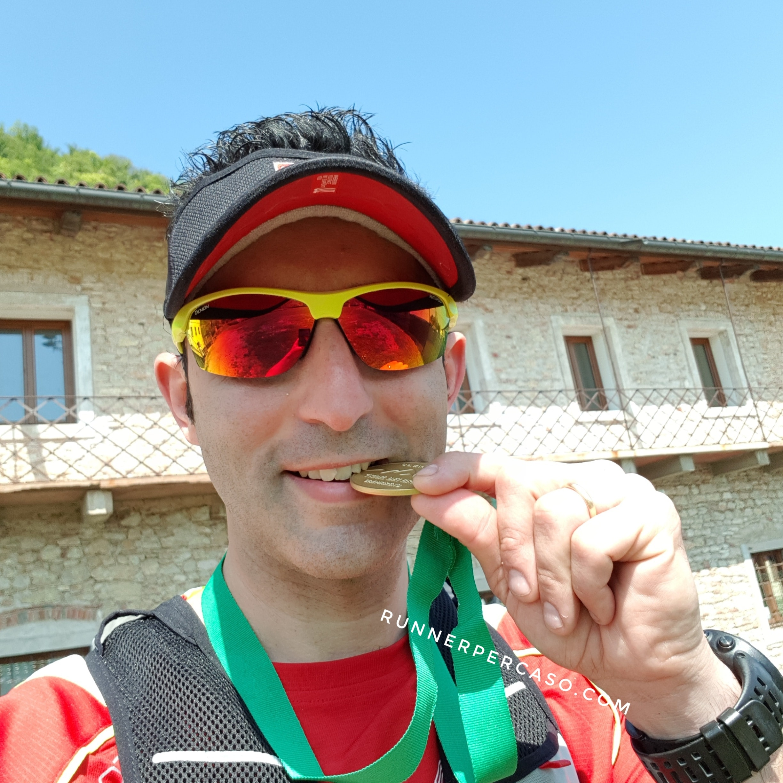 Runnerpercaso finisher al Trail dei Brac