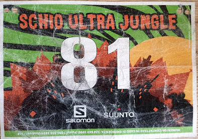 Pettorale Schio Ultra Jungle 2019