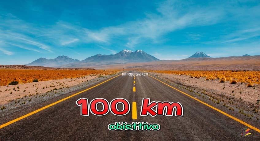 runnerpercaso obiettivo 100 km